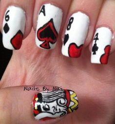 Playing Card Nails
