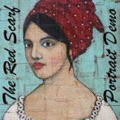 The Red Scarf Portrait