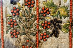 Silk embroidery, Italy, 16-17th century