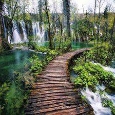 Plitvice Lakes National Park, Croatie