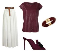 """""""Untitled #124"""" by wallan on Polyvore featuring MM6 Maison Margiela, Jimmy Choo and INC International Concepts"""