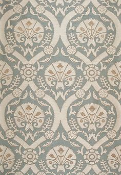 Taza Damask Dusk Fabric by Schumacher Pattern# 65770 Acquire this product plus Swatches always available. First Quality direct from manufacturer. Family owned since 1971 Textiles, Textile Patterns, Print Patterns, Beaux Arts Architecture, Fabric Decor, Fabric Design, Damask Curtains, Curtain Patterns, Schumacher