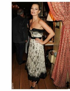 Kate Moss attends the 2010 Help for Heroes Auction hosted by David Bailey, September, London