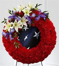 Picture of To Honor Their Country Wreath