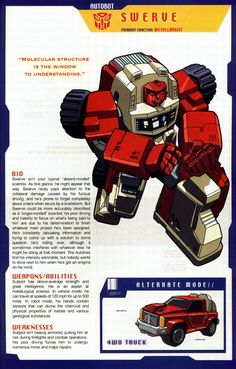 Transformers Universe - Gallery: G1 Swerve