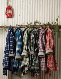 Liggande hängare av träd