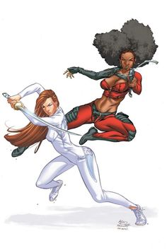 Colleen Wing & Misty Knight