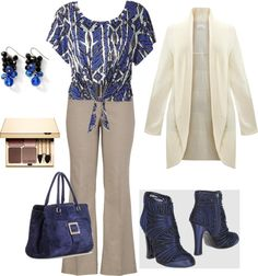 """Plus Size"" by sageflower on Polyvore"