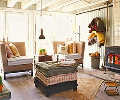 Cottage-Style Living Spaces