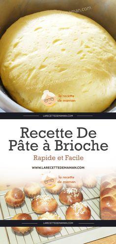 Quick and Easy Brioche Dough Recipe… - baguette - Desserts Pastry Recipes, Bread Recipes, Healthy Pizza Recipes, Breakfast Recipes, Dessert Recipes, Brioche Bread, Italian Pastries, Dessert Bread, Dough Recipe