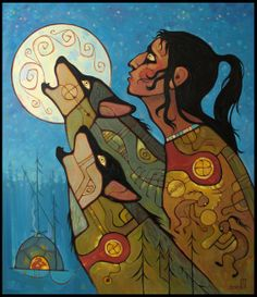 The Art of Vasiliy Mushyk ~ Influenced by the artwork of Norval Morrisseau Native American Artists, Canadian Artists, Claudia Tremblay, Kunst Der Aborigines, Woodland Art, Haida Art, American Indian Art, American Indians, Indigenous Art
