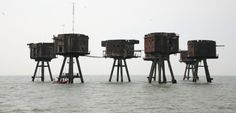 The Disused & Abandoned WWII Maunsell Sea Forts - Abandoned Spaces