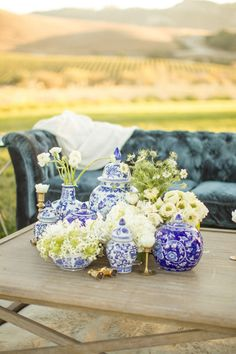 Preppy decor: http://www.stylemepretty.com/california-weddings/san-luis-obispo/2015/05/15/california-winery-wedding-inspiration/ | Photography: Mike Larson - http://mikelarson.com/