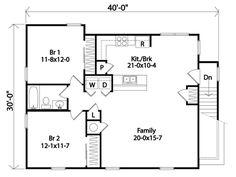 2nd Floor Plan | floor plans | Pinterest | Escalera, Garaje y ...