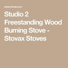 Studio 2 Freestanding Wood Burning Stove - Stovax Stoves