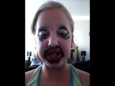 Really funny make up tutorial. Big bold lips. - http://ezbeautytips.com/1/really-funny-make-up-tutorial-big-bold-lips/  How to enhance your lips, brighten your eyes and apply powder, by an 11 year old make up artist. Video Rating:  / 5 https://valtimus.avonrepresentative.com/  Once in while my daughter get a hold of our iphone and records some funny stuff!