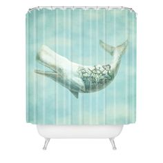 Far & Wide Shower Curtain | DENY Designs Home Accessories