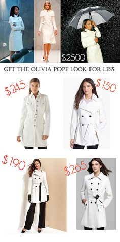 Olivia Pope Fashion - Look For Less