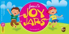 Jessie's JoyJars Label ..such a cool idea..Jessie's way of helping others!
