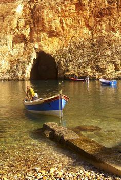 Gozo.. this hole goes out to the sea
