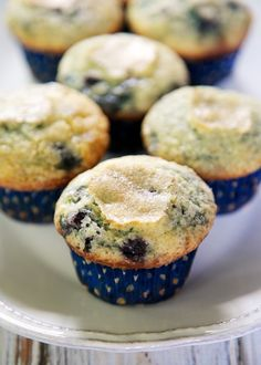 Blueberry Muffins | Plain Chicken