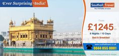 Incredible perhaps is just the word for #India, a country which has awed the world since time immemorial. Come, discover its multi hued beauty and glorious terrains with Southall's special pacakges that allow you to savour the ever distinct flavour of this unique nation.  http://www.southalltravel.co.uk/holidays-india/india-experience-khajuraho.aspx
