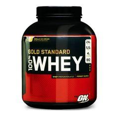 http://www.bodynet.com.br/professornatan/Produto/100_whey_protein_refil_optimum 100% Whey Protein é derivado do soro do leite (livre de lactose) com troca iônica e baixo peso molecular, o que proporciona o mais alto valor biológico da proteína e capacidade de absorção. Possui alto teor de aminoácidos essenciais e de cadeia ramificada BCAA's, necessários para o ganho de massa muscular magra. Suplemento execelente para suprir as 2 gramas de proteinas necessárias por kg de peso corporal.