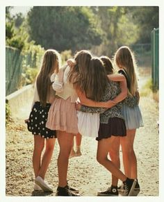 I love all my best friends so much @Adriana molly, ashley, Melissa