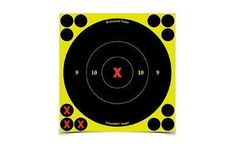 Birchwood Casey Shoot-N-C Target, Round X-Bullseye, 6 inch, 60 Targets