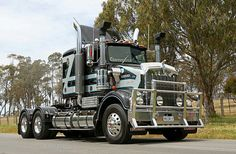 Kenworth Trucks, Mack Trucks, Big Rig Trucks, Semi Trucks, Cool Trucks, Truck Transport, Truck Art, Heavy Truck, Rigs
