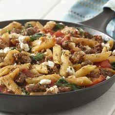 Greek Style Skillet Supper Recipe