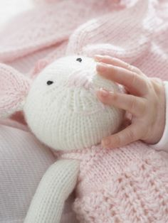 Zoe Bunny - Free Knitting Patterns Yarnspirations