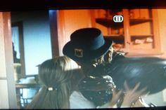 LEP KISSING HIS BRIDE. MY LEP MOVIE PIC TAKEN FROM LEPRECHAUN 2. THE LEPRECHAUN PLAYED BY WARWICK DAVIS