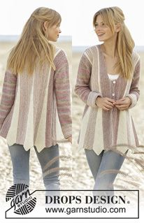 Did you know there are over 200 DROPS catalogues filled with thousands of free knitting patterns and crochet patterns for the whole family? Knitting Patterns Free, Free Knitting, Free Pattern, Crochet Patterns, Drops Design, Sweater Jacket, Vest Jacket, Crochet Fall, Your Favorite