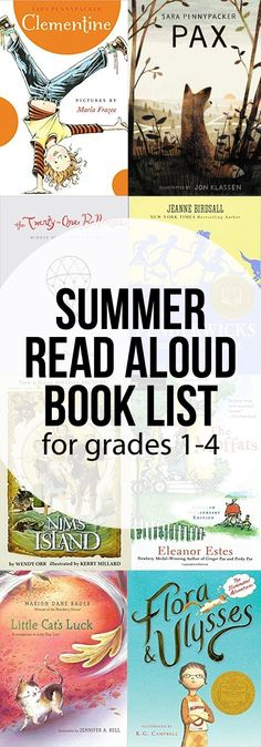 Elementary Summer Read Aloud Book List – Intentional Homeschooling Summer Reading Book List for Grades – great read aloud novels for elementary Kids Reading, Teaching Reading, Reading Books, Reading Aloud, Reading Time, Reading School, Early Reading, Summer Reading Lists, Read Aloud Books
