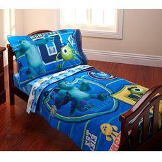 Disney's Monsters University 4-pc. Bedding Set - Toddler, Multicolor