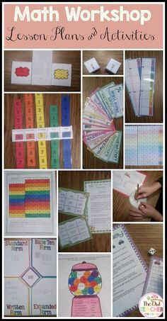 This blog post talks about all the ways to make Guided Math Workshop work, along with activities suggested for fact fluency, centers, and more!