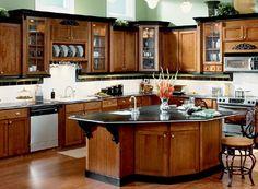 Small Kitchen Remodel Ideas and Modern Kitchen Renovation Küchen Design, Layout Design, House Design, Design Ideas, Design Color, Design Trends, Beautiful Kitchens, Cool Kitchens, Small Kitchens