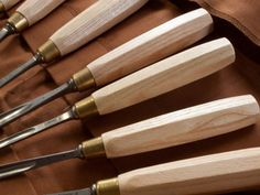 Chris Pye's Seven Piece Basic Carving Set at Tools For Working Wood