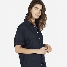 The Slim Fit Short-Sleeve Linen - Everlane