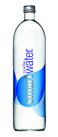 SmartWater Glass Bottle