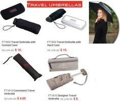 Travel Umbrellas - great branding opportunity!