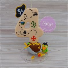 Fondant Figures, Pasta Flexible, Pirate Party, Cold Porcelain, Biscuits, Polymer Clay, Snoopy, Tutorials, Thing 1
