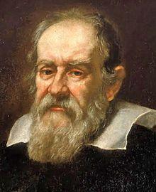 Galileo Galilei (Pisa, 15 de febrero de 1564 –Arcetri, 8 de enero de 1642) fue un astrónomo, filósofo, matemático y físico italiano que estuvo relacionado estrechamente con la revolución científica.