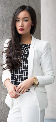 Office attire...The White Suit ... Love it