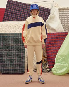 Ader Error's Fall/Winter 2017 Collection Is Daring and Futuristic: Retro-filled and fun. Sport Fashion, Fashion Brands, Girl Fashion, Fashion Outfits, Fashion Design, Black Women Fashion, Womens Fashion, Estilo Cool, Looks Style