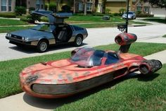 A Speeder worn in all the right places