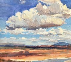 New Mexico Clouds New Mexico, Beautiful Places, Clouds, Paintings, World, Artist, Instagram, Paint, Painting Art