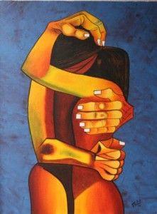 Guayasamin Osvaldo -Pintor ecuatoriano - 1919/1999