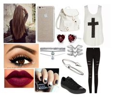 Untitled #50 by shaunamansley on Polyvore featuring polyvore, fashion, style, Converse, H&M, Jules Smith, Wet Seal, Stella & Dot and Case-Mate